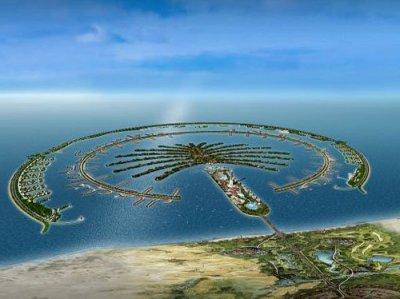 GIS Sites: Satellite images of Dubai & The Palm (Island of ...