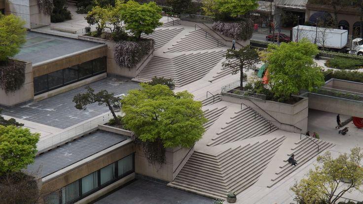有哪些优秀的室外台阶设计? 知乎