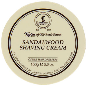 Taylor Of Old Bond Street-Sandalwood Shaving Cream – Elegant and