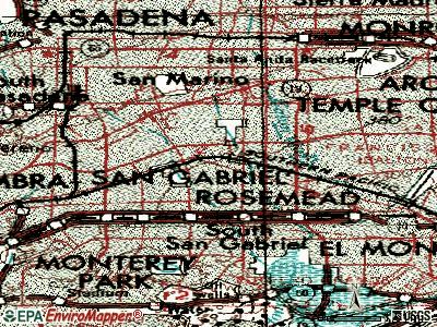 San Gabriel California Ca 91776 Profile Population