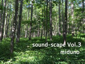 自然音 – 北八ヶ岳 – 朝の風景01 (バイノーラル録音)