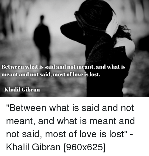 Between What Is Said and Not Meant and What Is Meant and ...