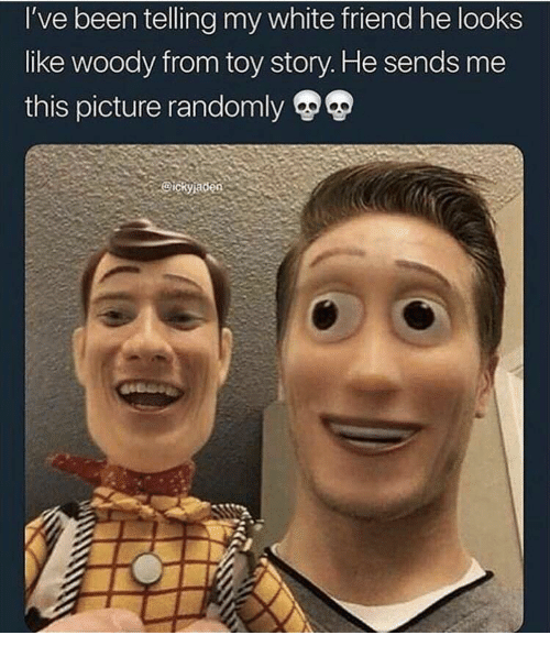 Swap Story Toy Woody Face