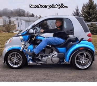 Smart Car Paint Ob   Meme on me me Memes  Paint  and           Smart car paint ob