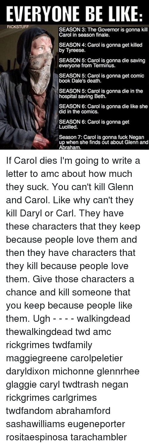 Tell You You Id Id You Kill Characters Have I Love Then