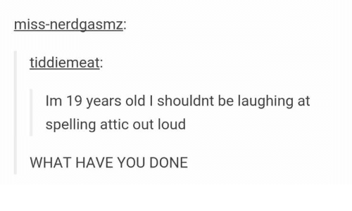 Evil Laugh Spell Out