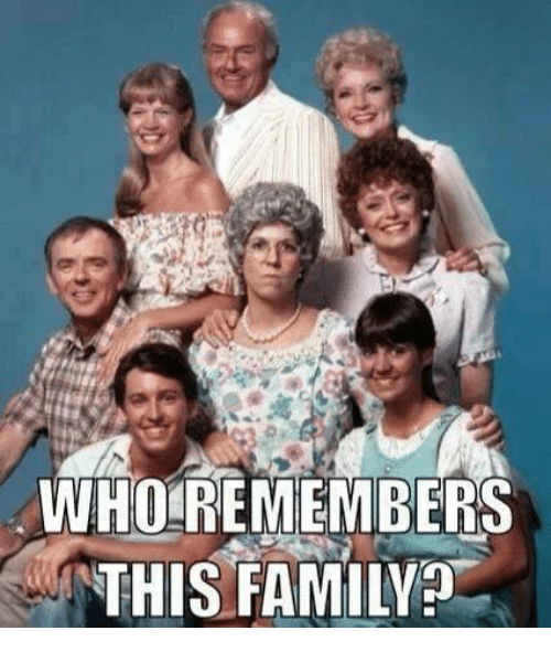 WHO REMEMBERS THIS FAMILY | Family Meme on SIZZLE