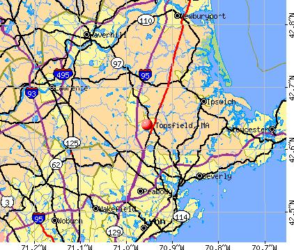 Topsfield, Massachusetts (MA 01983) profile: population ...