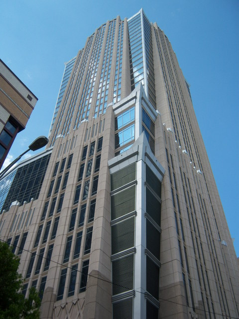 Charlotte Nc Hearst Tower In Uptown Photo Picture