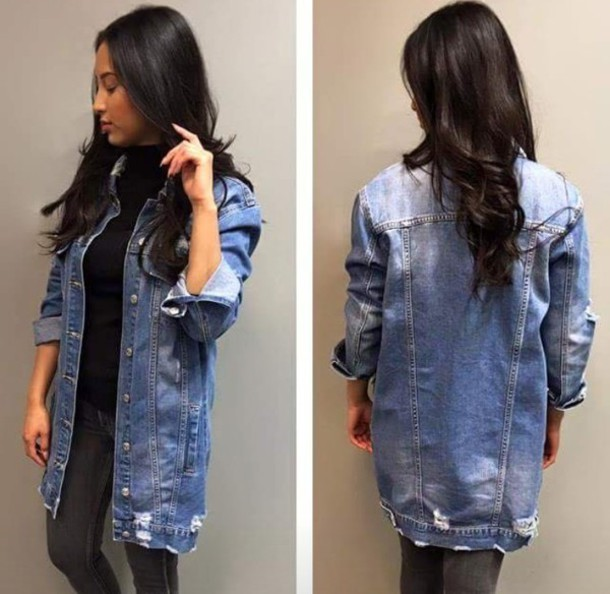 Outfits Girls Jean Jacket Tumblr