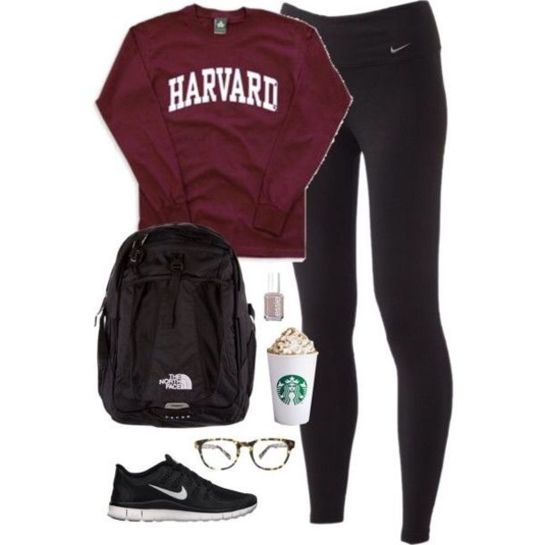 Sweatshirt Outfits School
