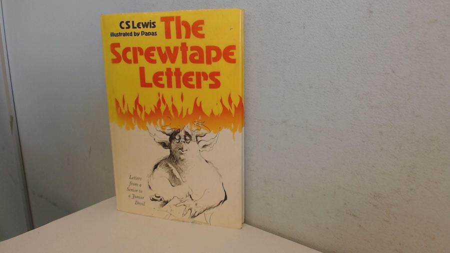 The Screwtape Letters by Lewis  C  S   Macmillan 9780002167321     The Screwtape Letters  Lewis  C  S