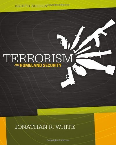 Terrorism Homeland Security 8th Edition