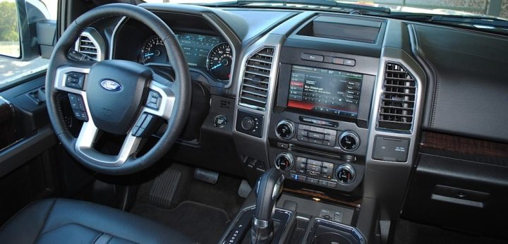 Used Ford F 150 For Sale in Auburn  AL   AutoNation Ford Lincoln Auburn Used 2015 Ford F 150 Interior Near Opelika