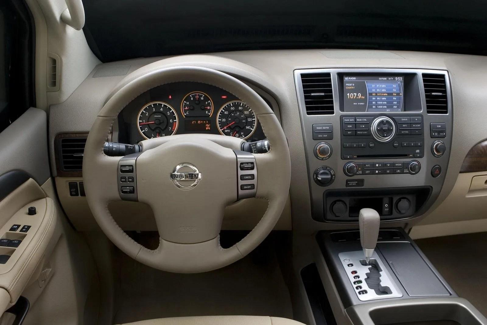 Nissan Armada Interior 2017