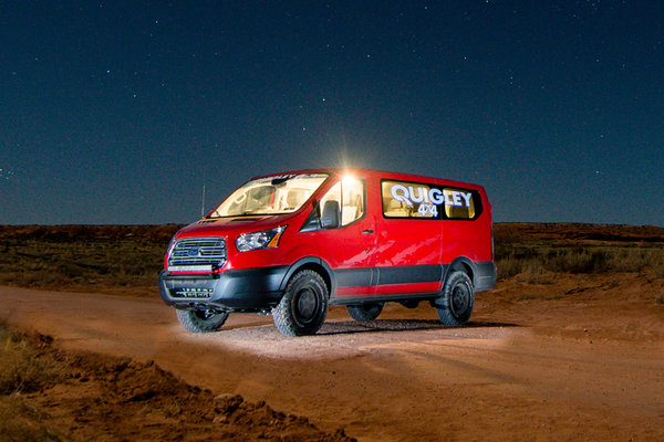 Quigley Motors 4x4 Ford Transit Takes On The 2015 Easter