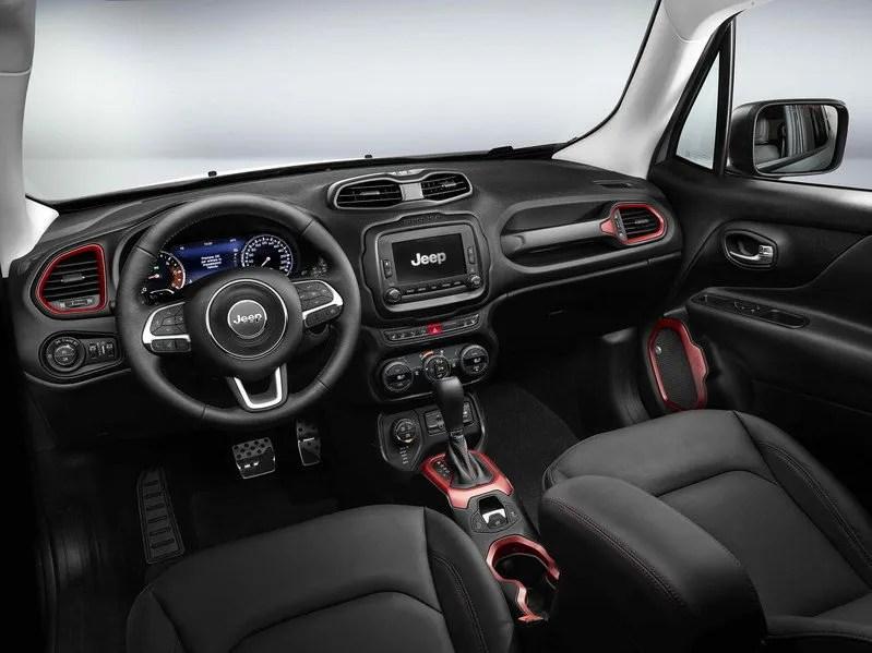 Jeep Renegade Interior Options