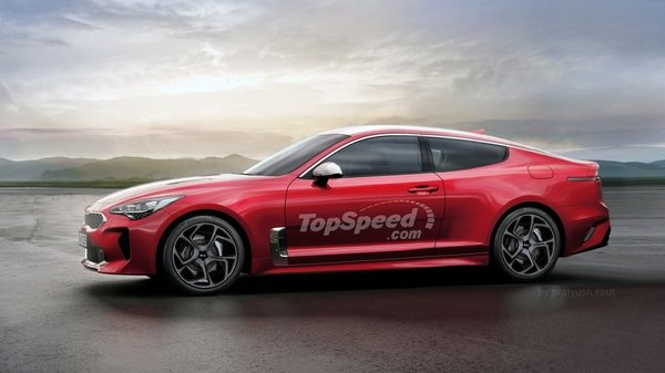 2020 Kia Stinger Coupe Car Review Top Speed