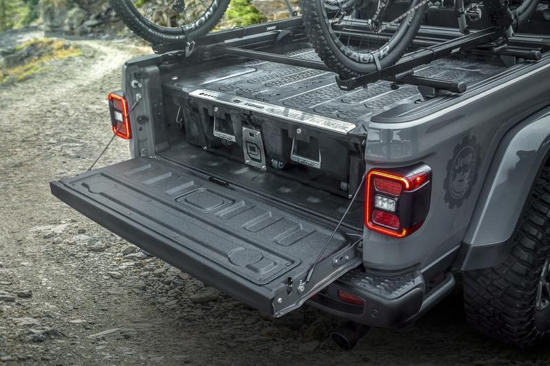 The 2020 Jeep Gladiator Parades New Upgrades From Mopar In