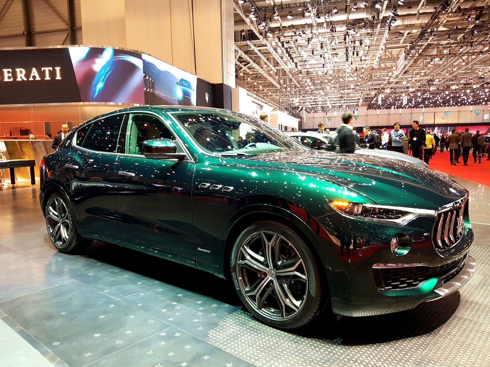 2019 Maserati Levante One Of One Allegra Antinori Pictures