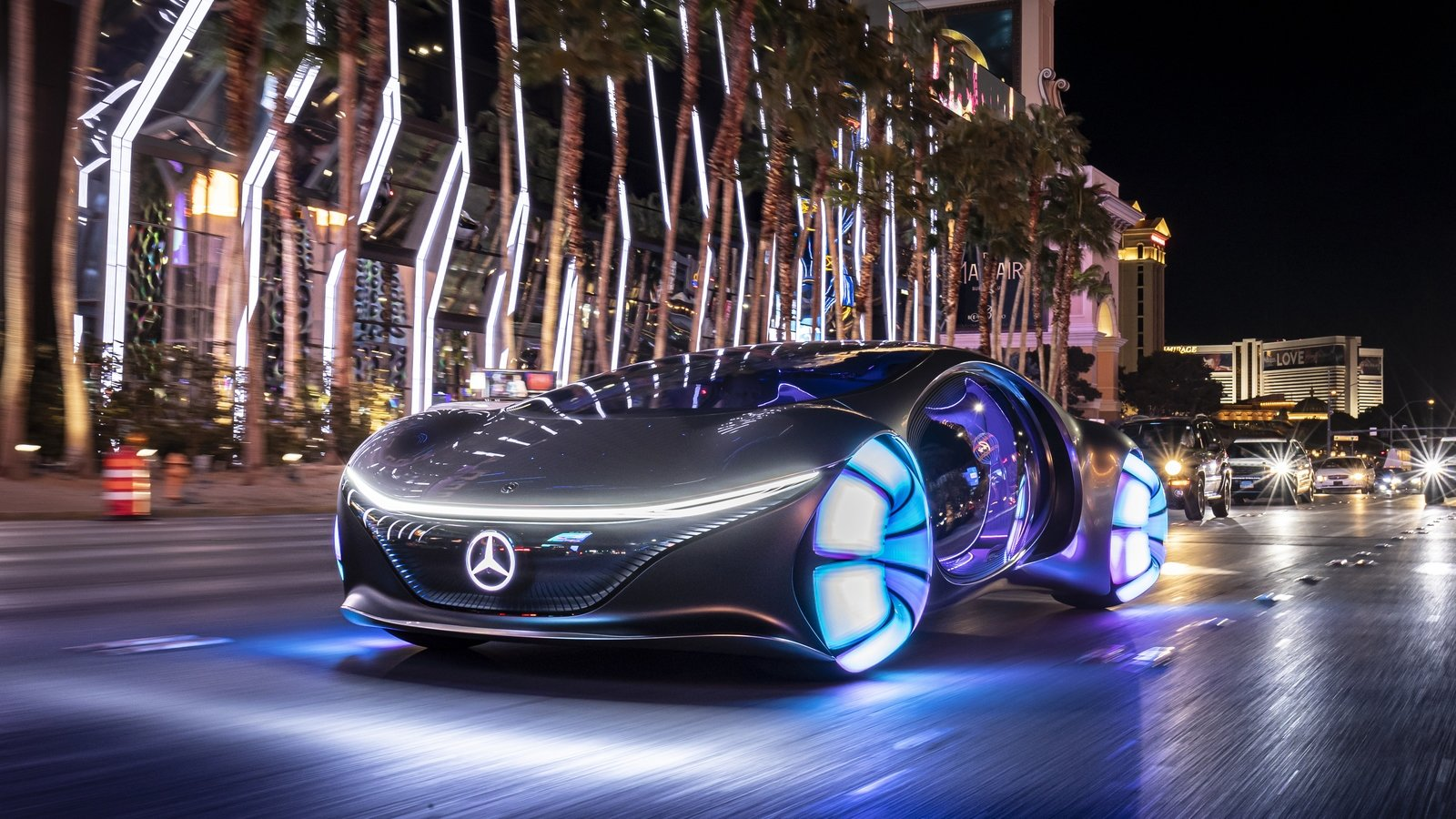 Mercedes Vision Avtr A Look Into The Impossible Future