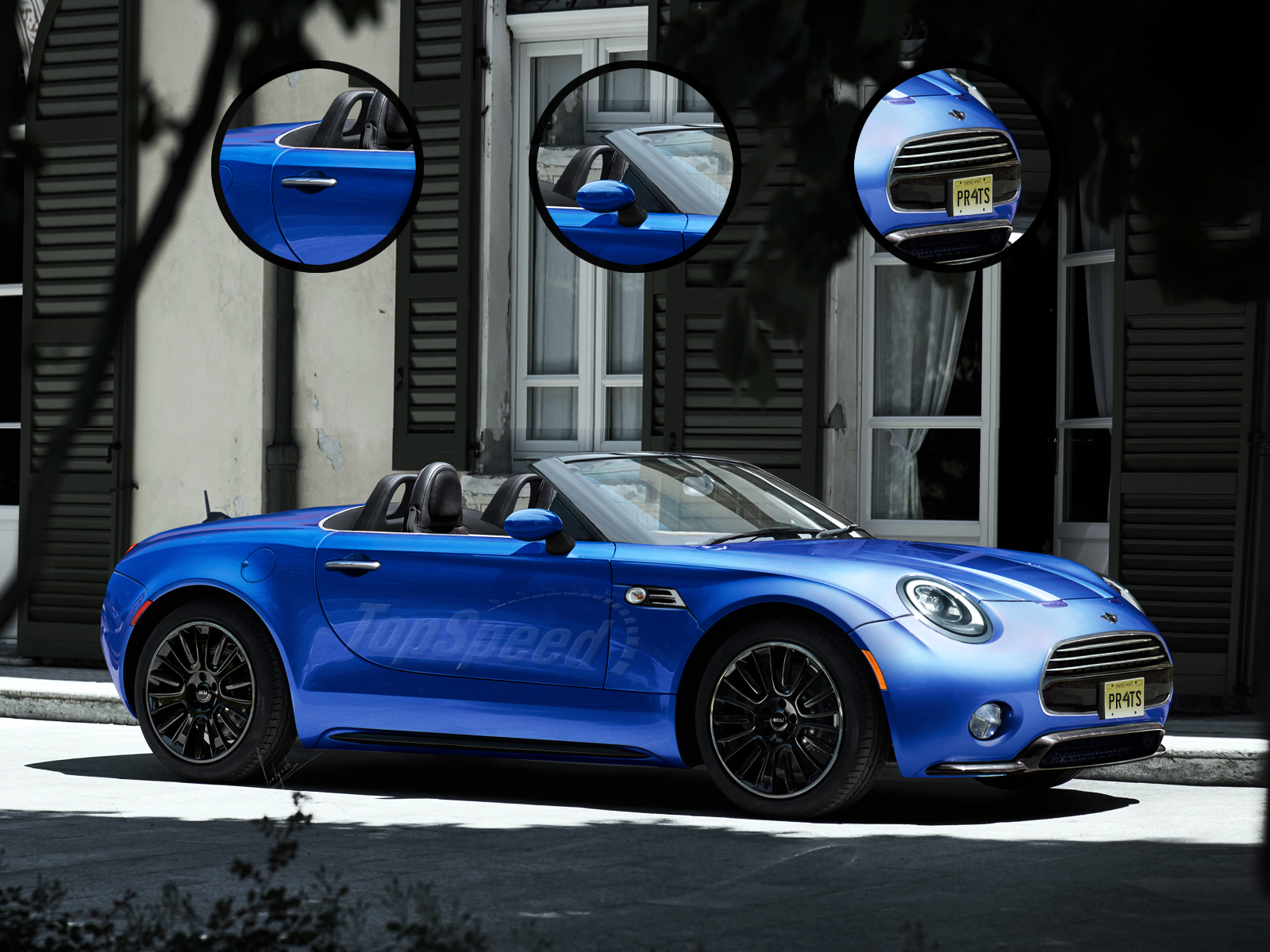 2016 Mini Superleggera Top Speed
