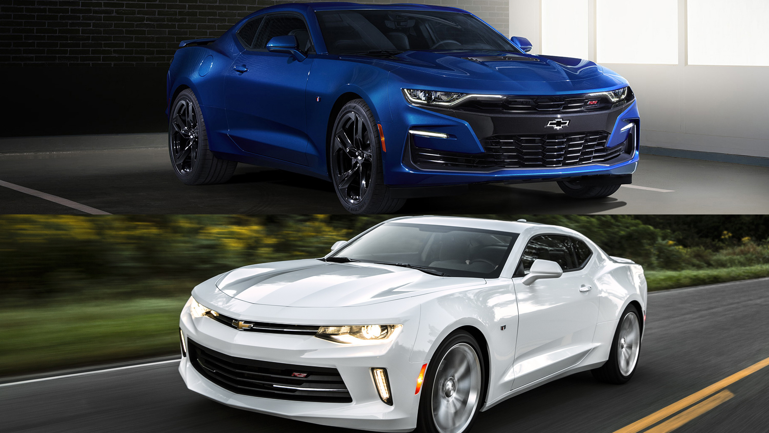 Visual Comparison: 2018 Chevy Camaro Vs 2019 Chevy Camaro ...