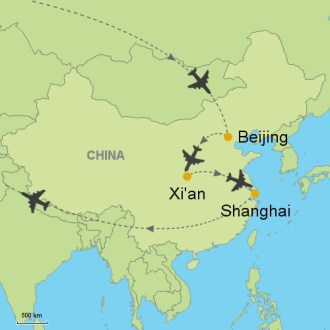Beijing   Xi An   Shanghai Customizable Itinerary from Asia     MAP beijing   Xian   shanghai