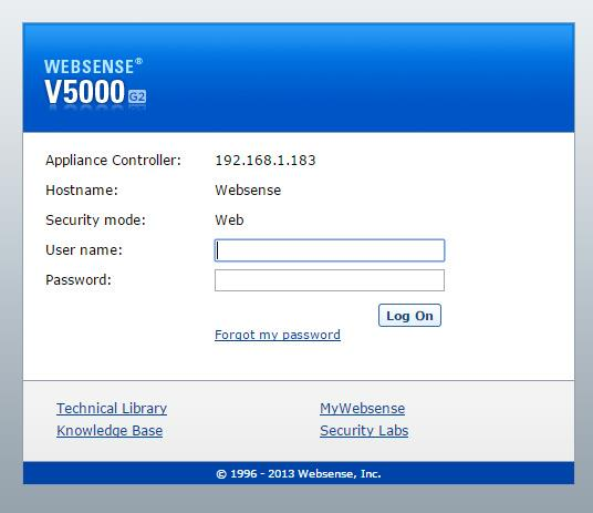 Websense Web Security 81 Installation Guide