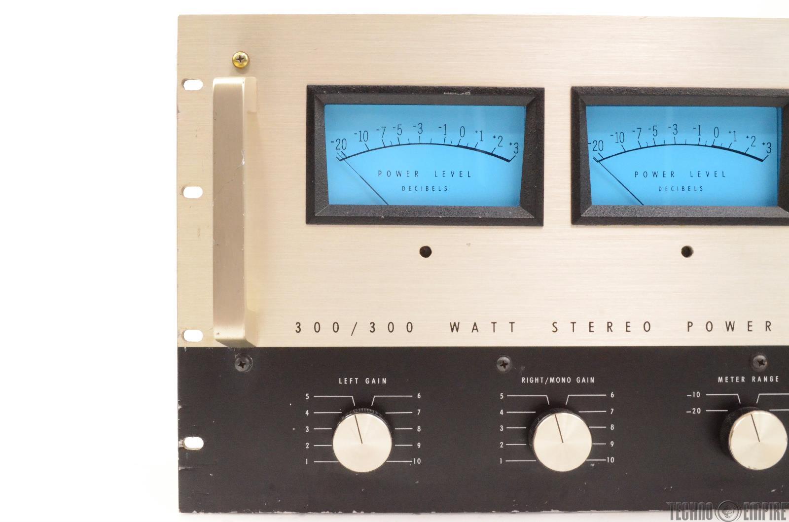 Stereo Amplifier Vu Meter For Power Amplifiers