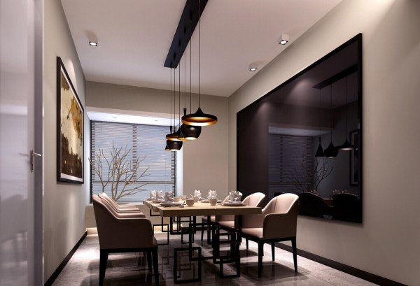pendant lighting over dining room table # 11