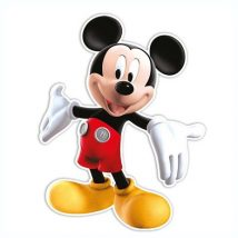 decoracion de carton de mickey mouse,