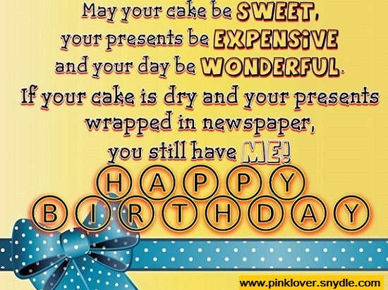 Funny Birthday Greetings Friends