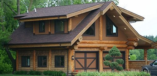 Log Homes Amp Cabins Floor Plans Bc Canada