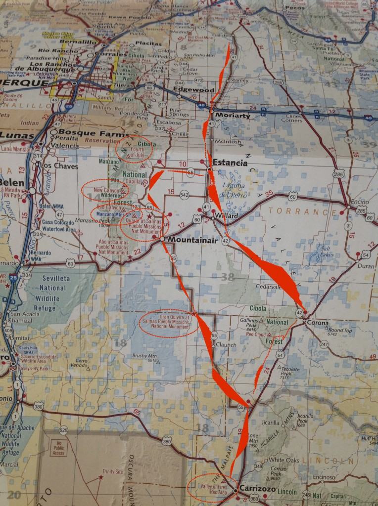 Piper Leigh   Road trip  Map roadtrip5 14 PL copy