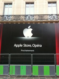 Apple Store  Opera  Opening Soon    piratec net Apple Store Opera 1