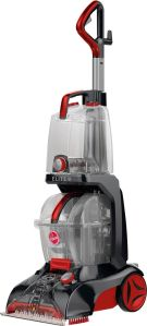 Hoover Power Scrub Elite Upright Deep Cleaner Multi FH50251   Best Buy Hoover   Power Scrub Elite Upright Deep Cleaner   Gray red   Front Zoom