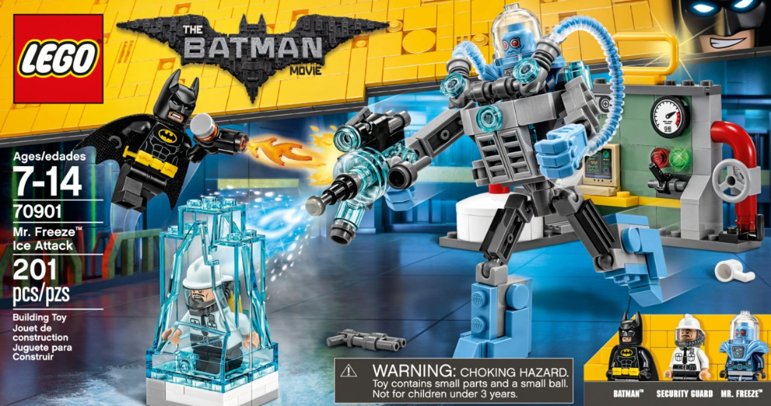 LEGO The LEGO Batman Movie Mr  Freeze Ice Attack Blue 6175850   Best Buy LEGO   The LEGO Batman Movie Mr  Freeze Ice Attack   Front Zoom