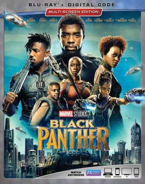Black Panther  Blu ray   English French Spanish  2018   Best Buy Black Panther  Blu ray   2018    Front Standard