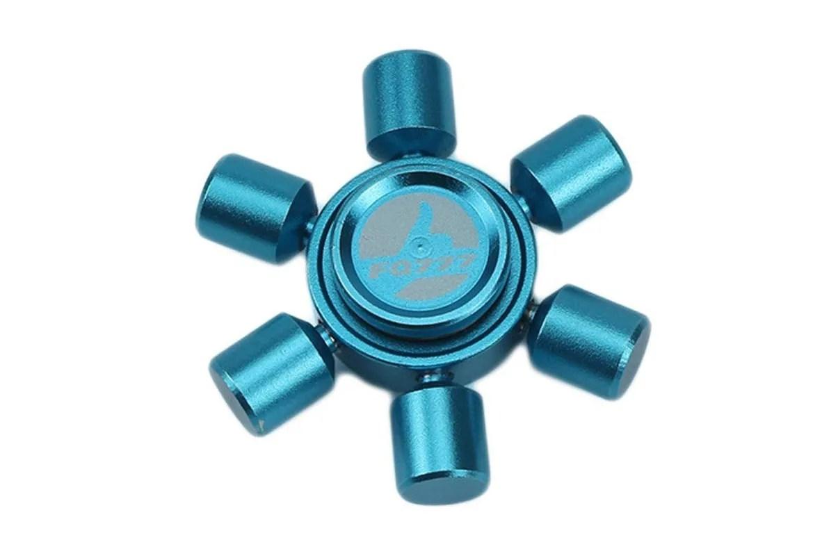 Fidget Spinner Light Blue