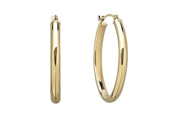 I Finally Found Gold Hoops Like Sade If you re looking for investment hoops  these 14 carat Infinite Gold  earrings are your best bet  They re super shiny  hypoallergenic  and  nickel free