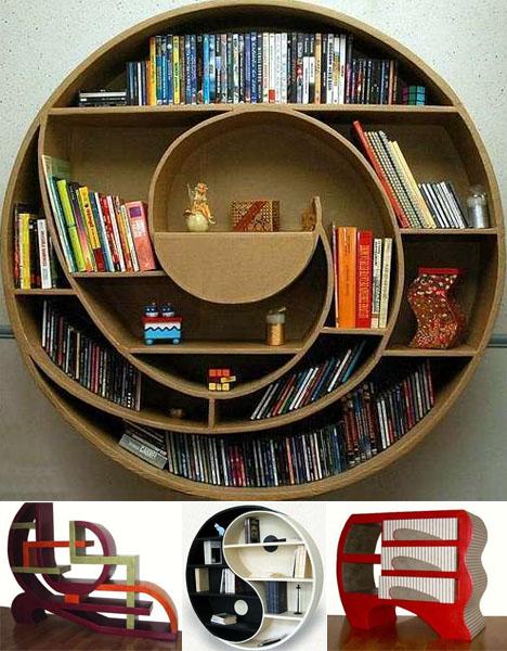 20 Creative Amp Innovative Bookcase Designs Pixel Curse