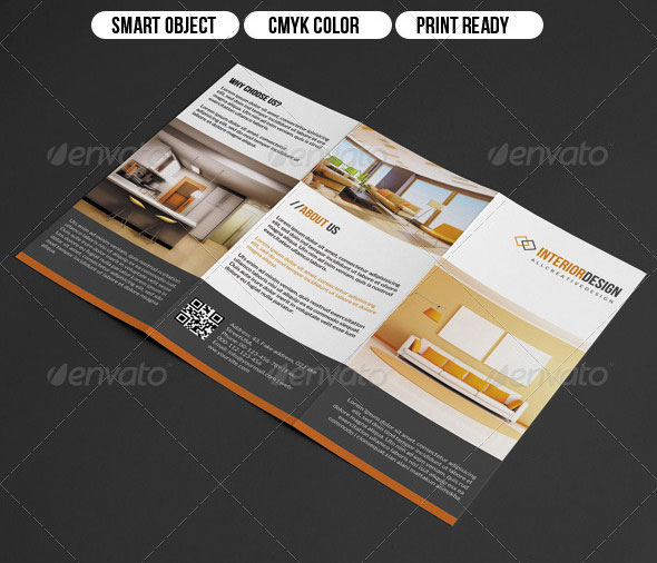 20 Amazing Interior Design Brochure Templates Pixel Curse