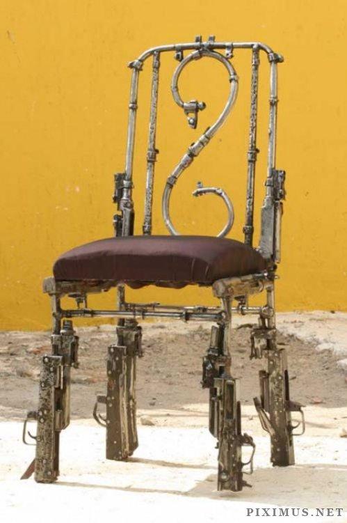 Gun Art Sculptures Art