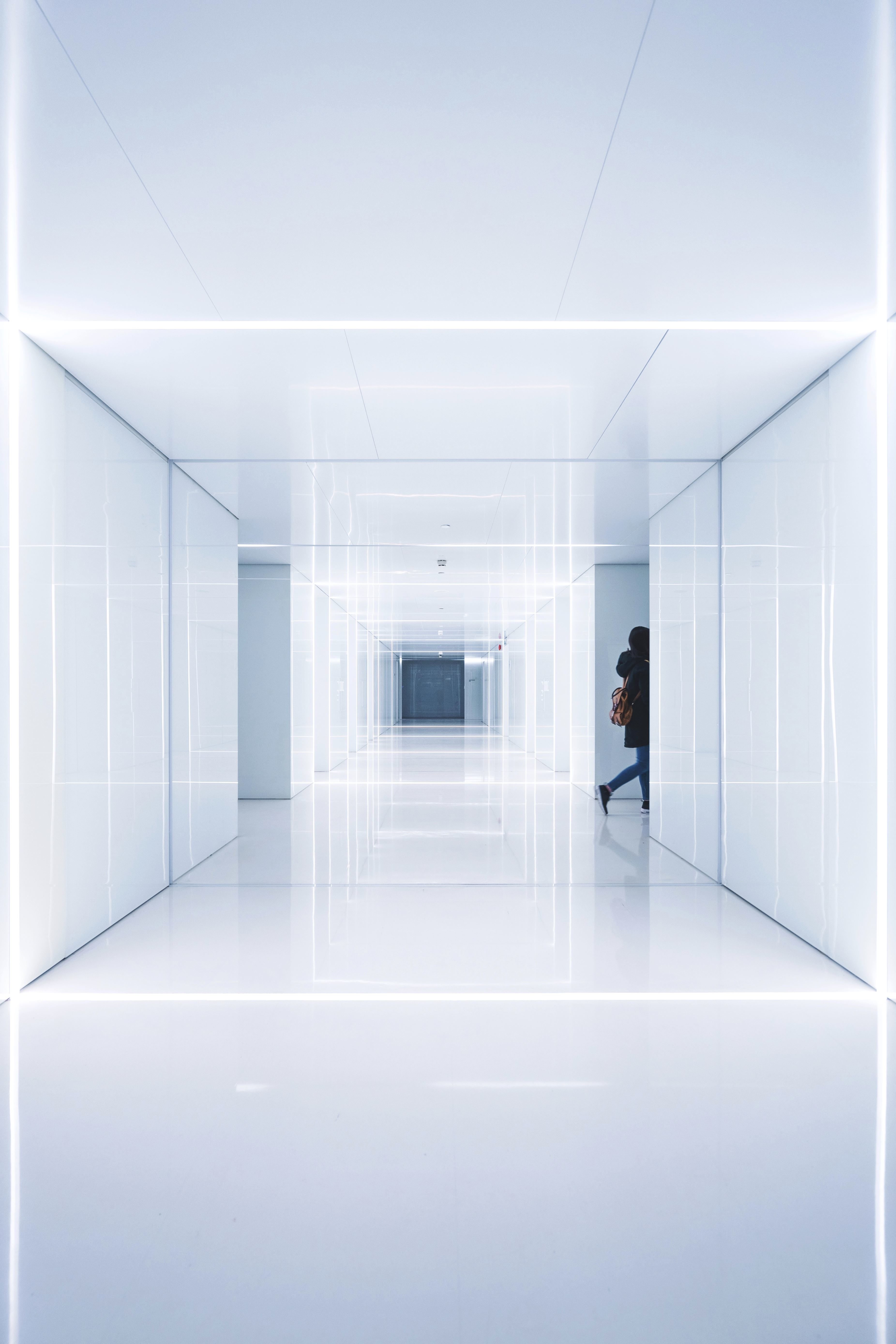 Free Picture Modern Space Wall Abstract Architecture