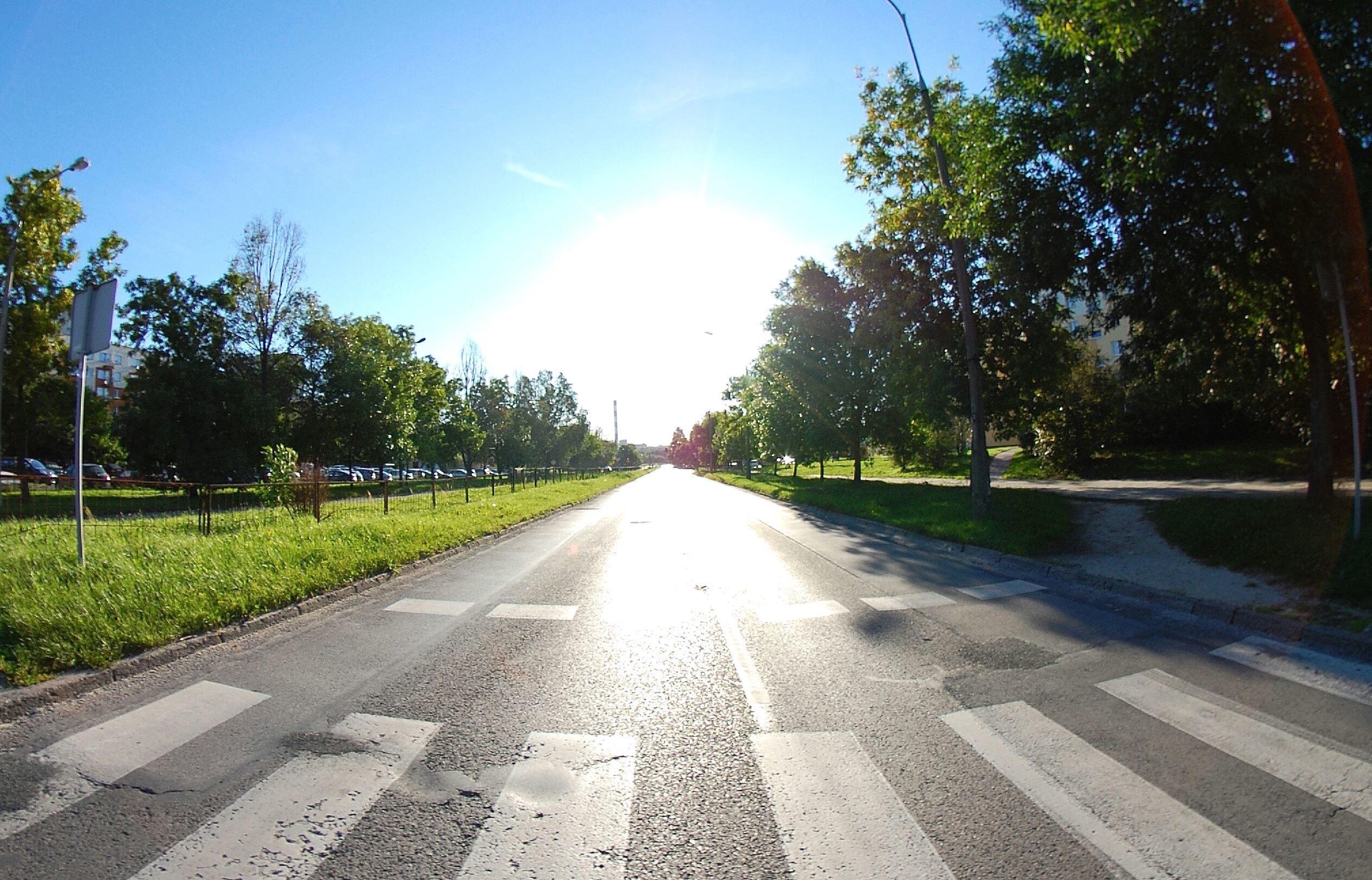 Free Picture Asphalt Road Sky Landscape