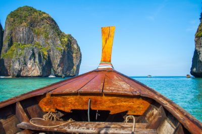 Free picture: tropical, island, summer, boat, water, ocean