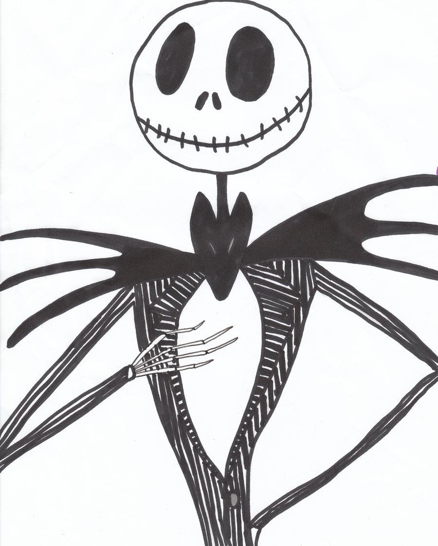 jack skellington drawings - HD900×1121