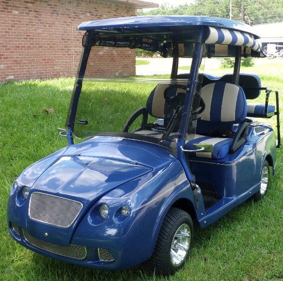 Melissa S Golf Cart Custom Body Kits Custom Golf Cart