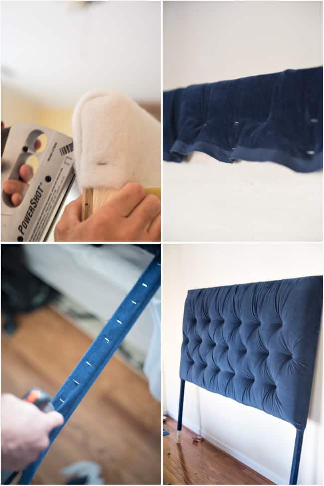 Tufted headboard   how to make it own your own tutorial 6
